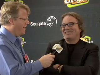 In the BlogHaus with Seagate's CEO