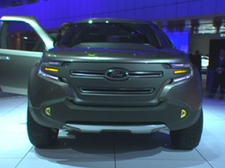 NAIAS: Ford's Explorer America with EcoBoost