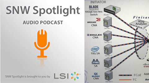 SNWSpotlight: 8G FC and FCoE, Solid State Storage