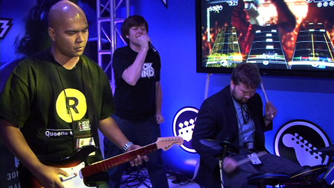 The Reboot: Rock Band 2 Demo at E3 2008