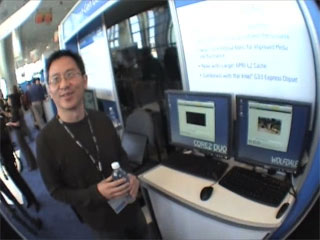 Fall IDF Video Demo – Faster video encoding on Penryn family of processors
