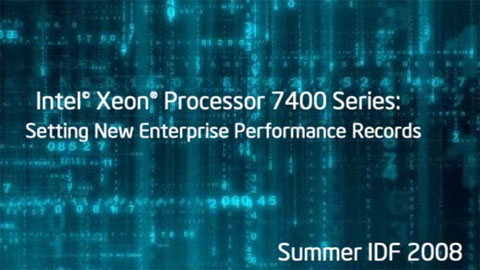 Xeon 7400-Series World Record Results
